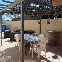 Très belle villa climatisée plain pied, 3 chambres, piscine privée, proche du canal du midi et 4km de la mer LXPIN23
