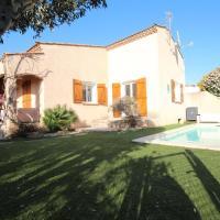 Belle villa de 138m2 3 chambres avec joli jardin et piscine privée 3 km de la mer LXBRU5, hotel near Beziers Cap d'Agde Airport - BZR, Portiragnes