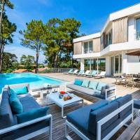 ARENA, Rent a beautiful architect villa with swimming pool in Anglet