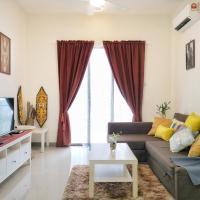 Bangsar South Apartment near KL Gateway Mall Kerinchi LRT!