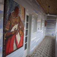 Blue Lodge rte de Somone, hotel in Somone