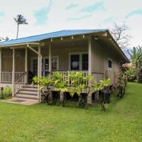 Plantation Cottage home, hotel in Hanalei