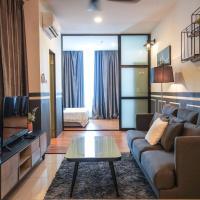 Pinstay Classic Bleu Suites @ ITCC Manhattan Suites, hotel in Penampang