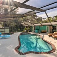 Bright Cottage w/ Heated Pool, 4 Mi to Beach!