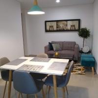 LOFT- Moderno aparta-estudio amoblado en condominio