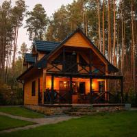 Domek w lesie nad zalewem – hotel w mieście Chańcza