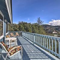Lake Gregory Getaway with 2 Decks and Lake Views!