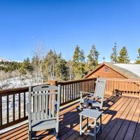 Secluded Fairplay Home with Deck, Grill and View!, hotel in Fairplay