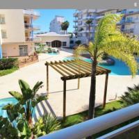 PORT CANIGO 406 -Apartamento con piscina y parking en Sta Margarita Roses