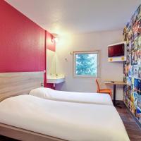 hotelF1 Mulhouse Bâle Aéroport, hotel in zona Aeroporto di Basilea-Mulhouse-Friburgo - BSL, Haberhaeuser