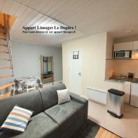 Appart Limoges Centre Le Duplex !, hôtel à Limoges près de: Aéroport de Limoges-Bellegarde - LIG