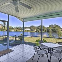 North Port Home with Lakefront Lanai Near BCH!, hotel in North Port