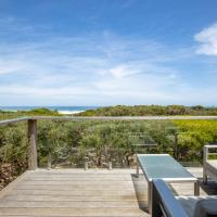Pole House Beach Retreat: Ocean Views, Architecture