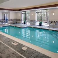 SpringHill Suites Manchester-Boston Regional Airport, hotel in Manchester