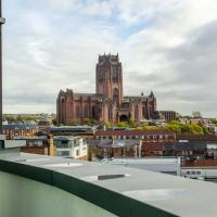 Penthouse with Superb Views In Liverpool City Centre - Free Parking - Balcony - by Happy Days