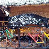 Castaway Native Huts, hotel in San Vicente