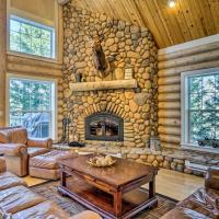 Secluded Log Cabin with Game Room and Forest Views!, hotel in Red Feather Lakes