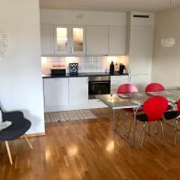 Modern seaside apartment in Larvik, hotell i Larvik
