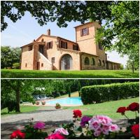 Agriturismo Chieteno con piscina - Cetona, hotell i Cetona
