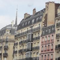 Charming Quiet New Top-Floor Nest Notre Dame Sorbonne *AC Lift