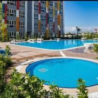 Lego residence (sauna, pools, gym, city center), hotel near Antalya Airport - AYT, Antalya
