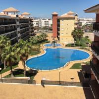 Urbanización Mar de Canet, 2 dormitorios con piscina comunitaria, garaje y wifi