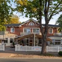 Hotel & Café Strandeck, hotel in Prerow