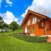 Luxus-Ferienhaus Blockhaus Chalet Nr 2 mit Sauna Fussbodenheizung Kamin zentral in Feldberg-Ort 1300m üM