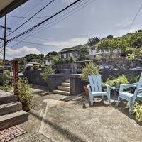 Remodeled Honolulu Apartment with Courtyard Downtown!