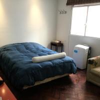 Cozy and luminous studio in Palermo (Las Cañitas), hotel near Jorge Newbery Airfield - AEP, Buenos Aires