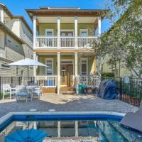 Beach Beyond Belief House & private pool & free bikes & private beach, hotel in Rosemary Beach