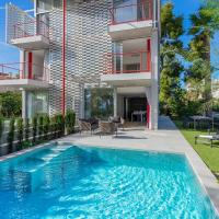 Brand New Stylish House Pool and 100m to Beach