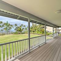 Hilo Home with Ocean View- 39 Mi to Volcanoes NP