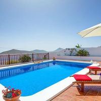 Villa Vista Nazaret con piscina privada y barbacoa