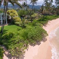Modern Mokuleia Beachfront home