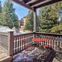 Condo with Deck & Shuttle to Angel Fire Resort!