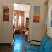 House furnished with garage, yard near Park at Amfiali Piraeus Port