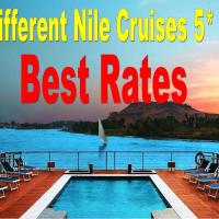 Nile Cruises - From Luxor 04 & 07 Nights Each Saturday - From Aswan 03 & 07 Nights Each Wednesday