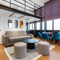 Luxury loft in paris