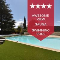 KIKILOUE - VALBONNE - Splendid villa with heated swimming pool & sauna!、ビオットのホテル