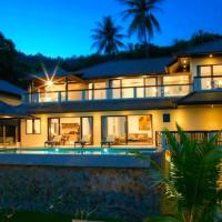 Bophut Hills Luxury Brand New 180 degree Sea View Villa