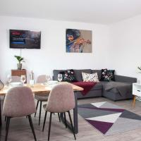 Helle 2-Zi. Wohnung, Netflix/WiFi, Hockenheimring, отель в городе Кеч