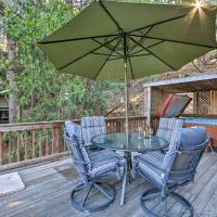 Secluded Cabin with Hot Tub - Walk to Lake Gregory!