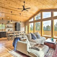 Mountainside Fairplay Cabin with Game Room and Sauna!, hotel in Fairplay