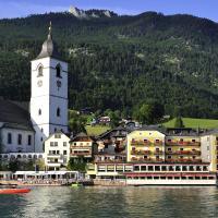 Romantik Hotel Im Weissen Rössl, hôtel à Sankt Wolfgang im Salzkammergut