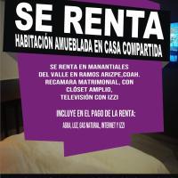 SE RENTA HABITACION EN CASA COMPARTIDA, hotel in Ramos Arizpe