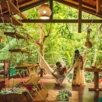 CASA DA ARVORE, sonho na Amazônia, 50m da praia