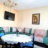 Apartment with 2 bedrooms in M'diq with shared pool and furnished balcony 1 km from the beach