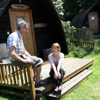Tehidy Holiday Park Wigwam Camping Cabins