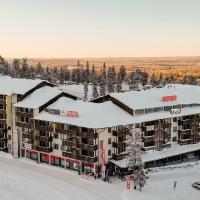 Ruka Ski Chalets, hotelli Rukalla